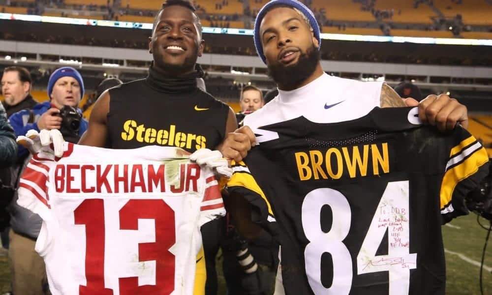 NFL: Odell Beckham and Antonio Brown