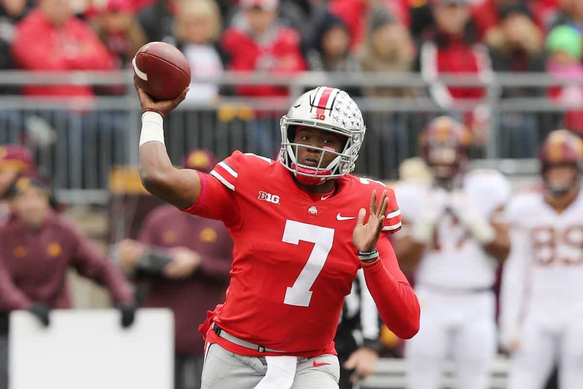 2019 NFL Draft Mock Draft Dwayne Haskins