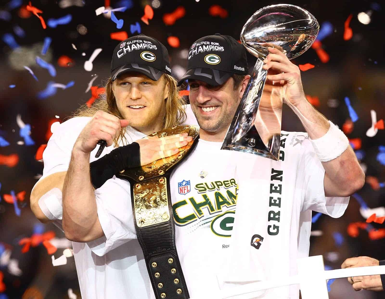 Green Bay Packers Clay Matthews Aaron Rodgers