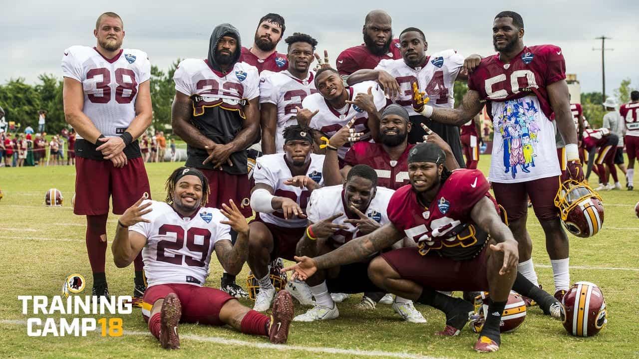 Washington Redskins rookie camp NFl draft