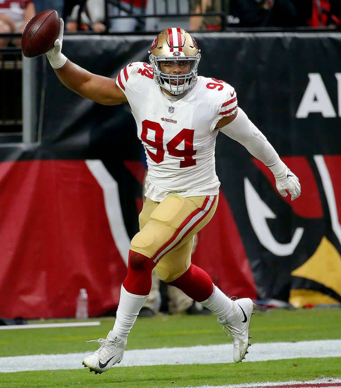 San Francisco 49ers EDGE defender Solomon Thomas