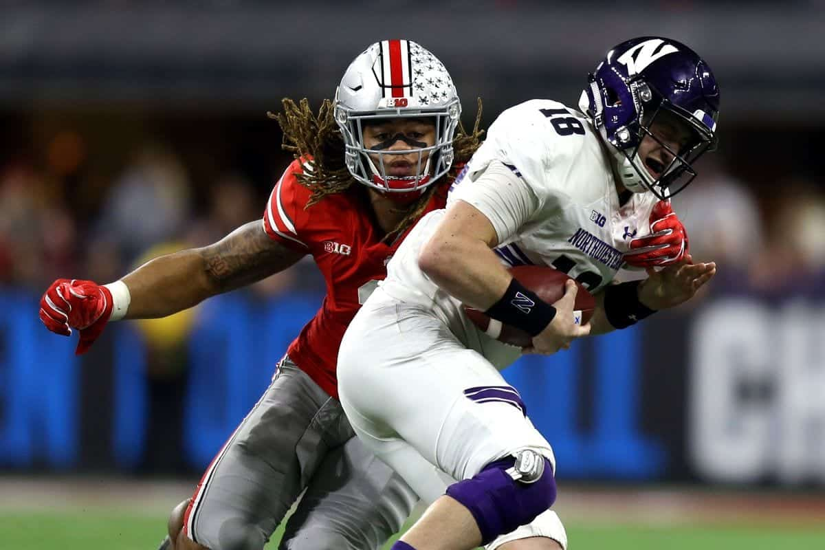 2020 NFL Draft Chase Young Ohio State
