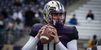 2020 NFL Draft prospect Washington QB Jacob Eason