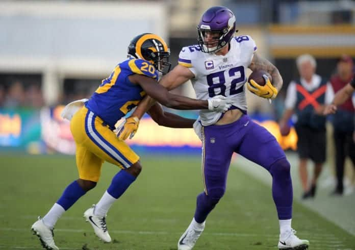 Los Angeles Rams trade for Kyle Rudolph