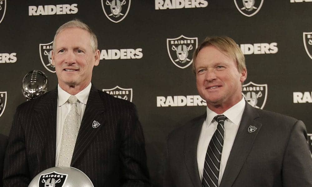 NFL General Managers Mike Mayock Oakland Raiders