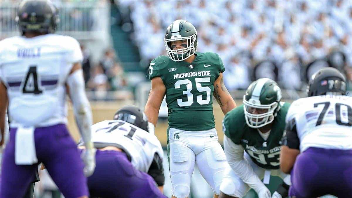 Michigan State Spartans football - Joe Bachie