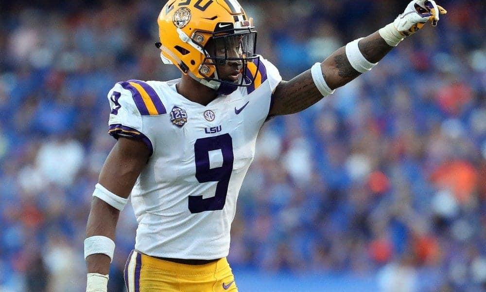 2019 SEC Championship Game Grant Delpit - NFL Draft