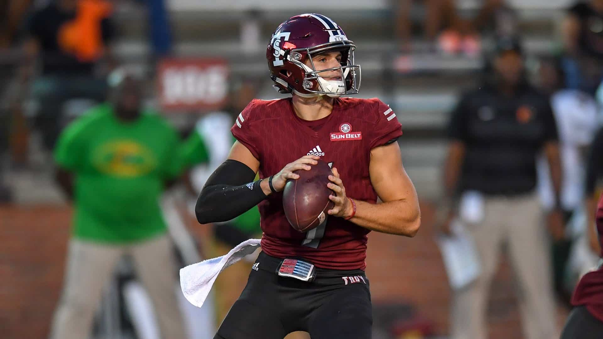 Troy QB Kaleb Barker a sleeper prospect in 2020 NFL Draft