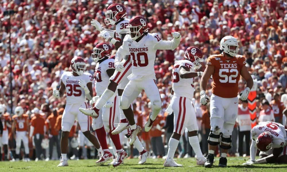 Texas Longhorns vs. Oklahoma Sooners - NFL Draft