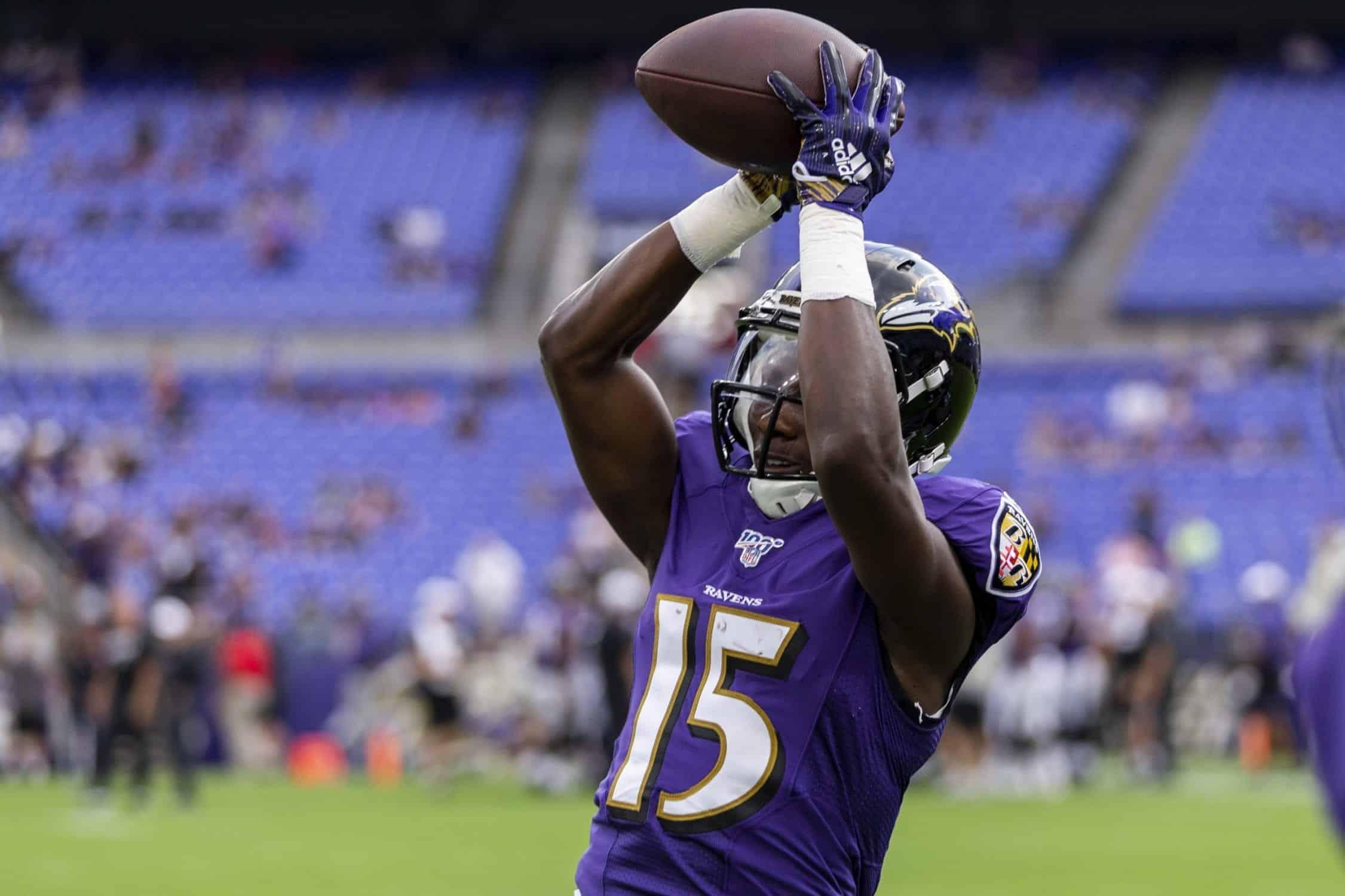 Marquise Brown Week 12 NFL Rookies Stock Report