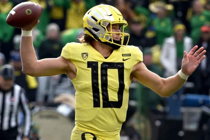 Nfl Games Christmas Day 2020.Will Justin Herbert Be A Top Five Pick In The 2020 Nfl Draft