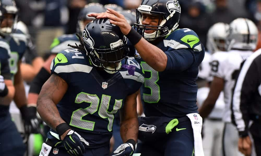 If Marshawn Lynch signs with the Seattle Seahawks, what is the fantasy and betting fallout?