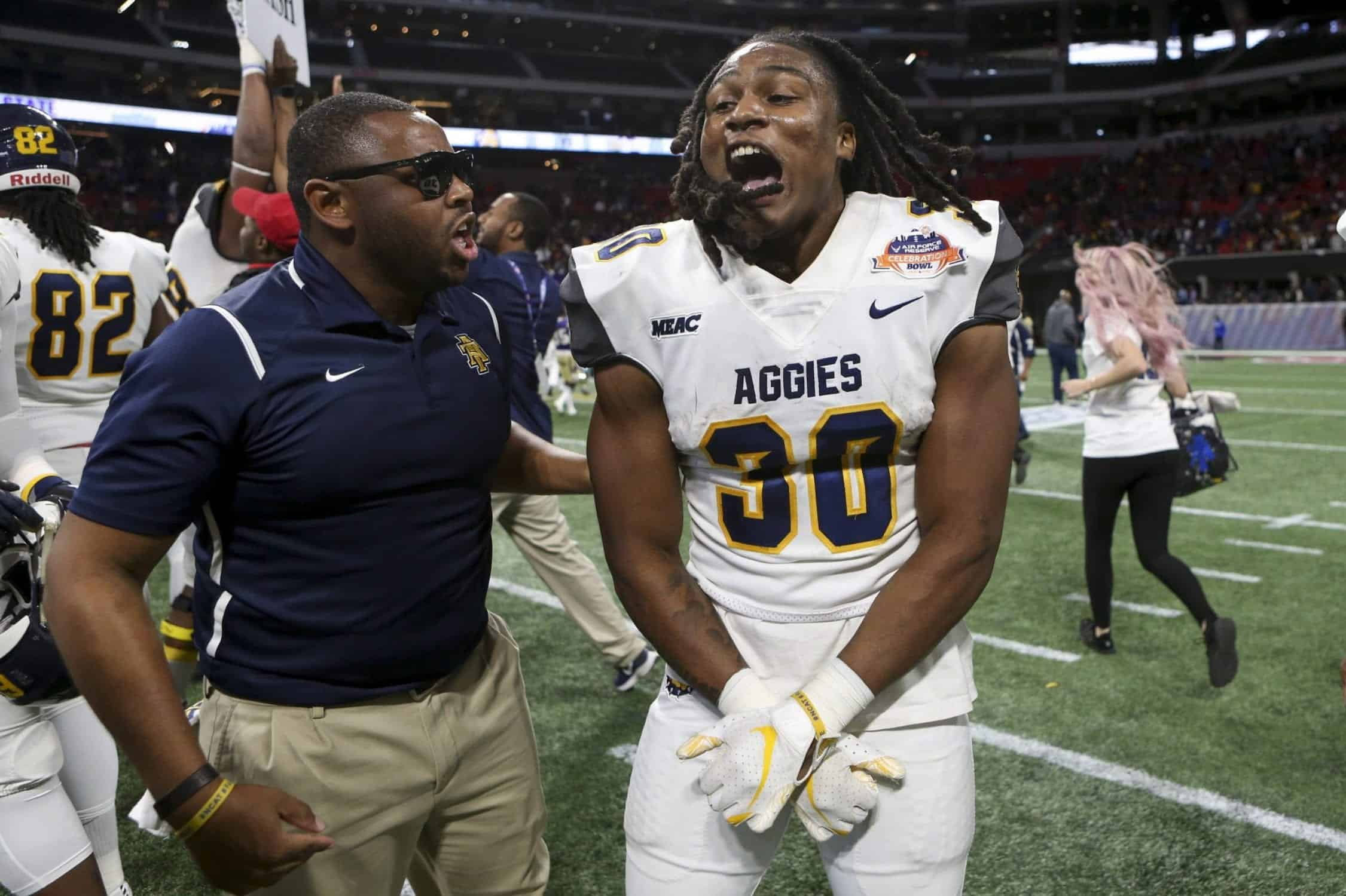 Is Jah-Maine Martin of North Carolina A&T the next Tarik Cohen?