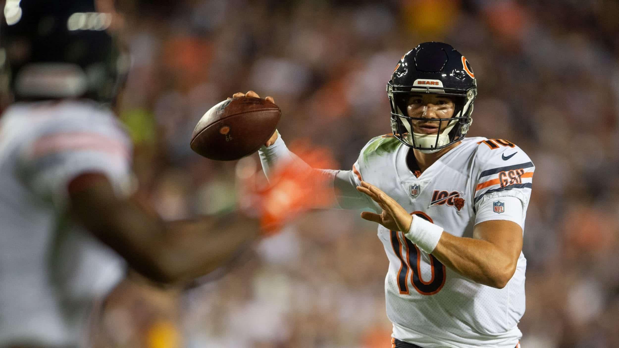 Can Chicago Bears QB Mitchell Trubisky be a franchise quarterback?