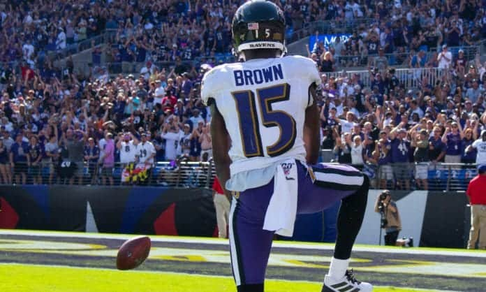 Marquise Brown's future looks bright in Baltimore