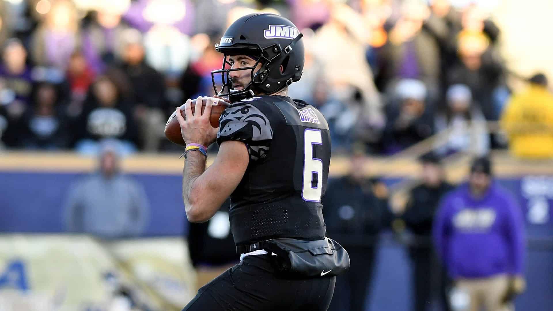 JMU's Ben DiNucci a former transfer turned NFL Draft prospect