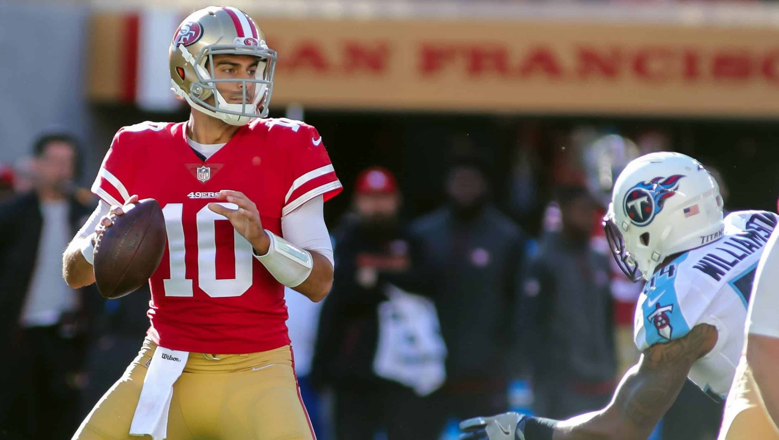 quarterback jimmy garoppolo big games