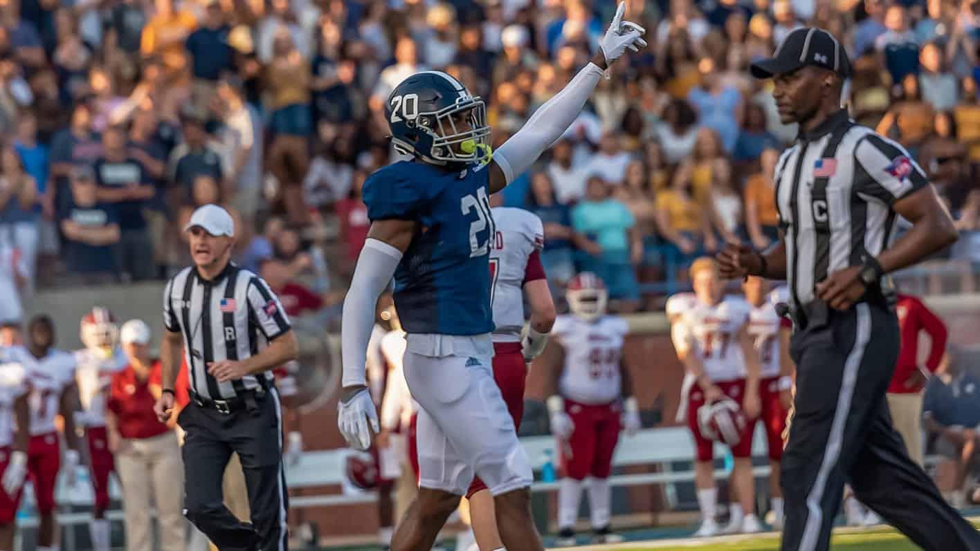 Kindle Vildor is a small school NFL Draft prospect set to make a big impact