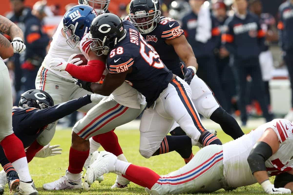 2020 NFL Draft: Chicago Bears 7-Round Mock Draft