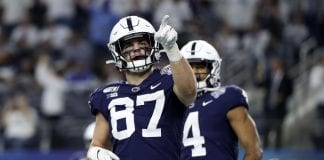Penn State tight end Pat Freiermuth a top option for 2021