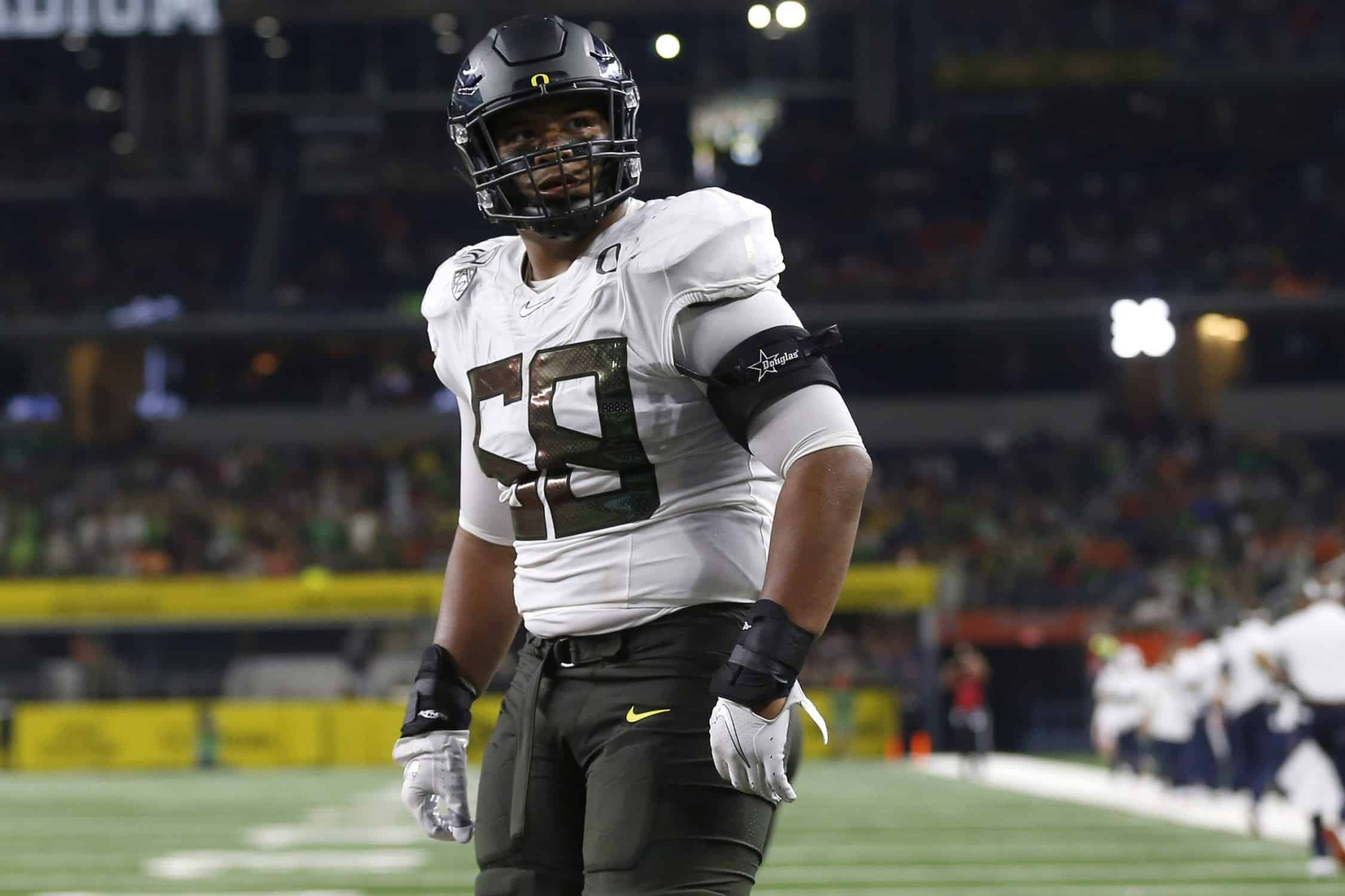 Penei Sewell leads top-heavy group of offensive tackles in the 2021 NFL Draft