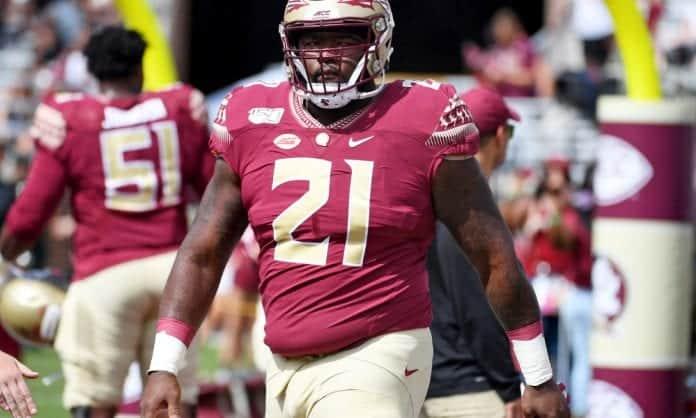 Marvin Wilson is FSU's top prospect in the 2021 NFL Draft
