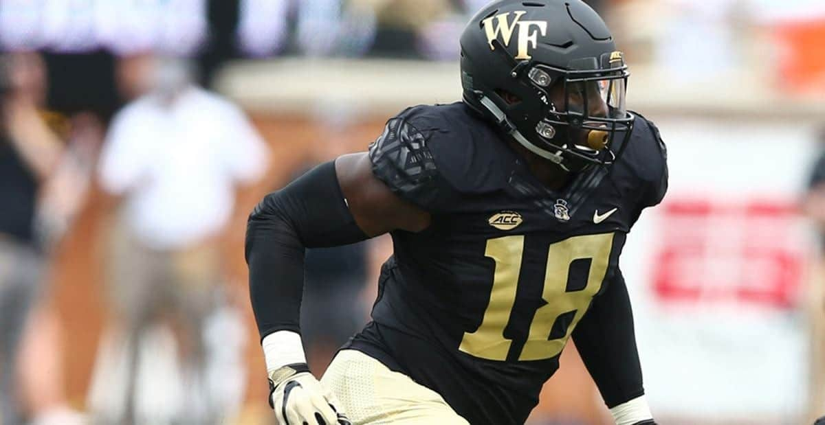 2021 NFL Draft: Don't overlook Wake Forest EDGE Carlos Basham Jr.