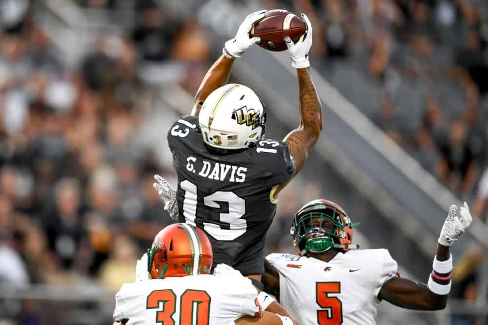 2020 NFL Draft Scouting Report: Central Florida WR Gabriel Davis