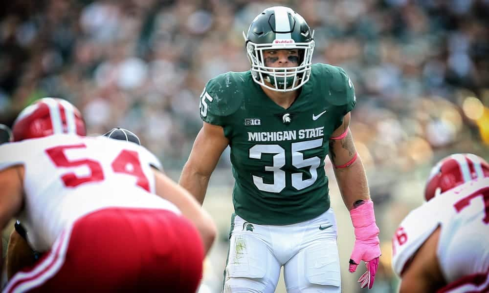 2020 NFL Draft Scouting Report: Michigan State ILB Joe Bachie