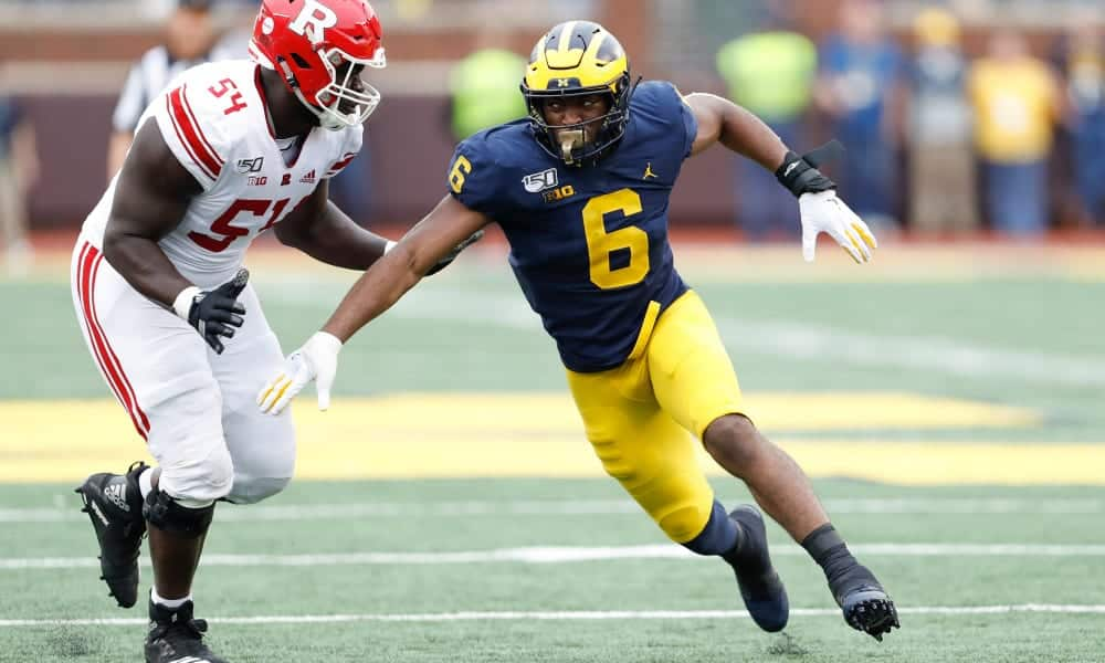 2020 NFL Draft Scouting Report: Michigan OLB Joshua Uche