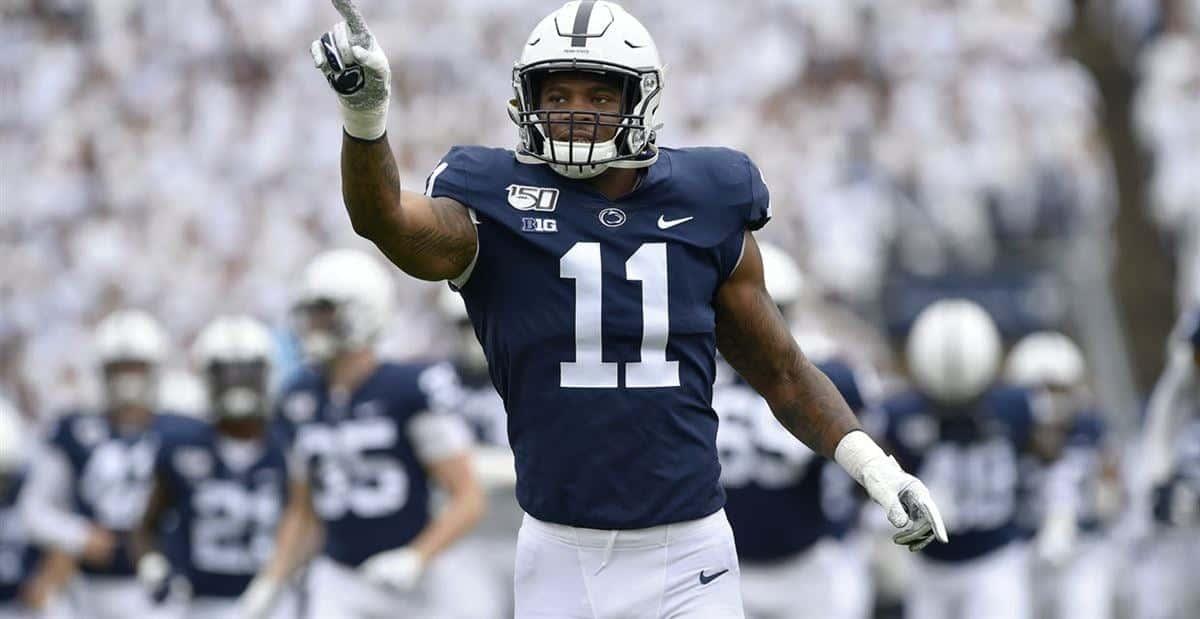 2021 Nfl Draft Ranking Penn State Linebacker Micah Parsons