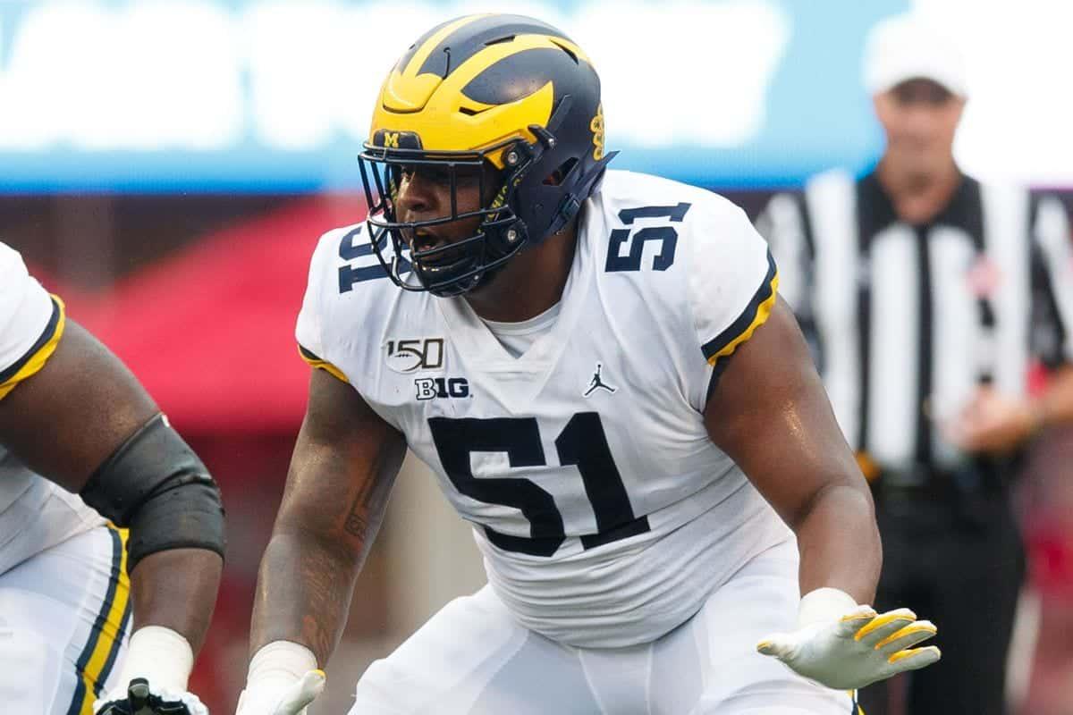 2020 NFL Draft Scouting Report: Michigan C Cesar Ruiz