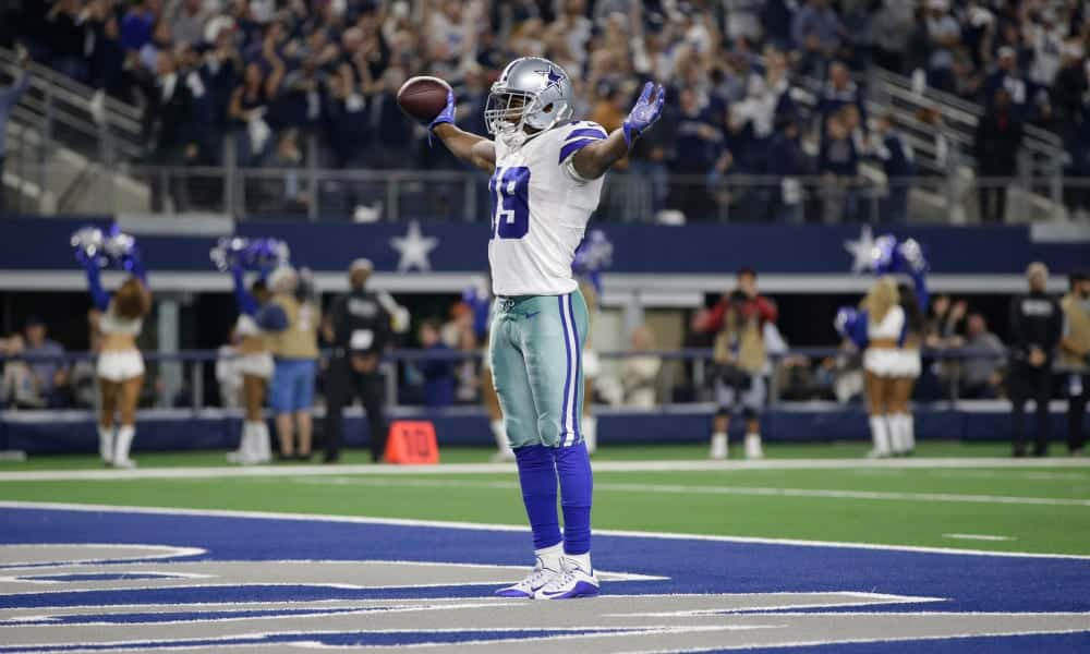 Where does Amari Cooper sit in the top free agent wide receivers for 2020?