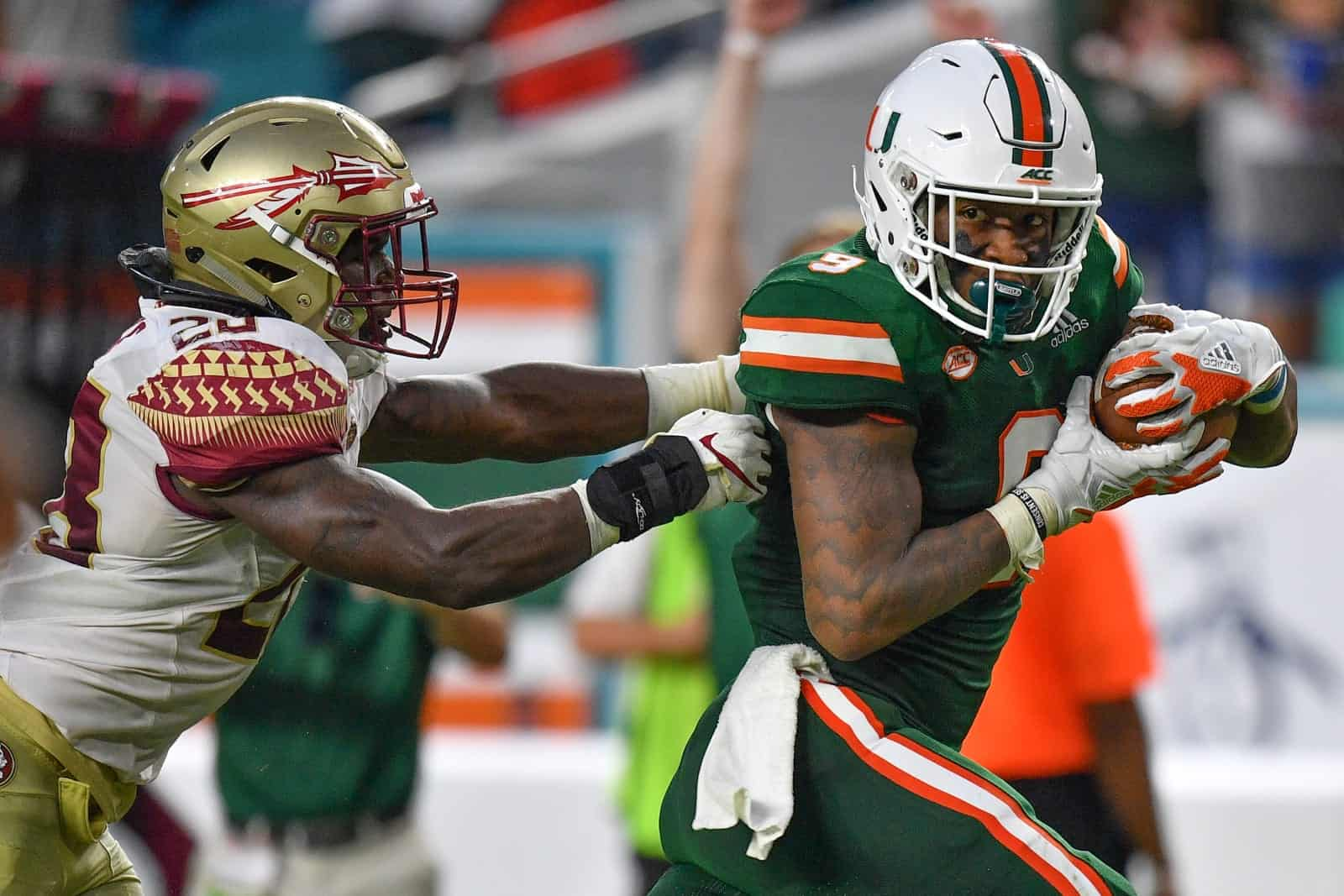 2021 NFL Draft: The unlimited potential of Miami tight end Brevin Jordan