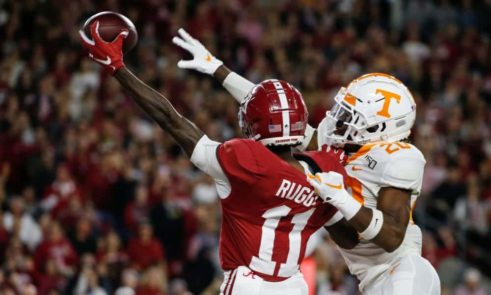 2020 NFL Draft Scouting Report: Alabama WR Henry Ruggs III
