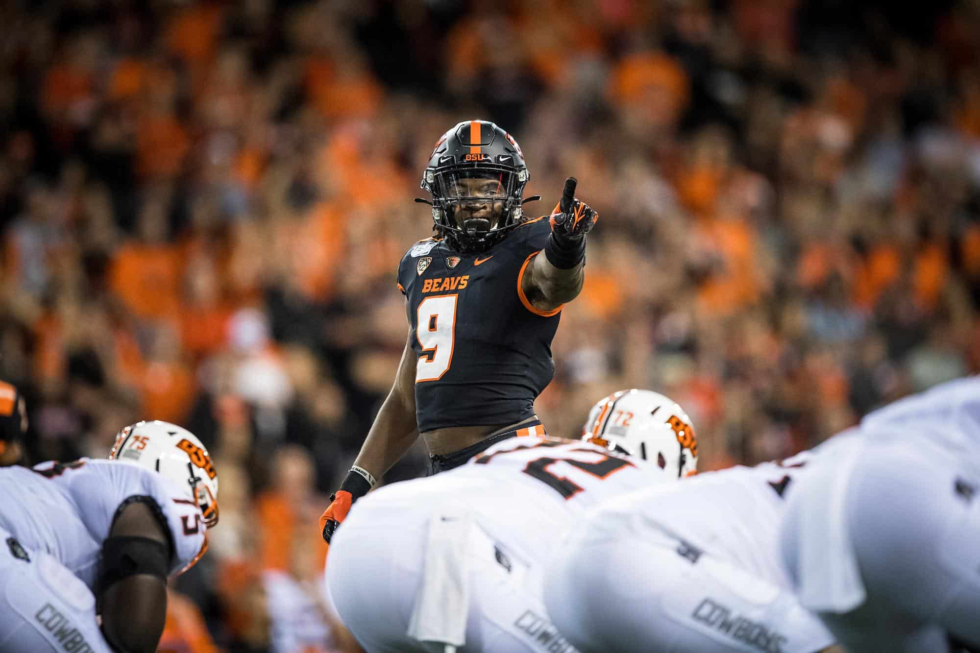 2021 NFL Draft: Oregon State's Rashed Jr. a first-round rusher?