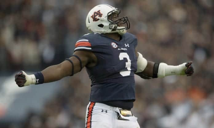 2020 NFL Draft Scouting Report: Auburn DE Marlon Davidson