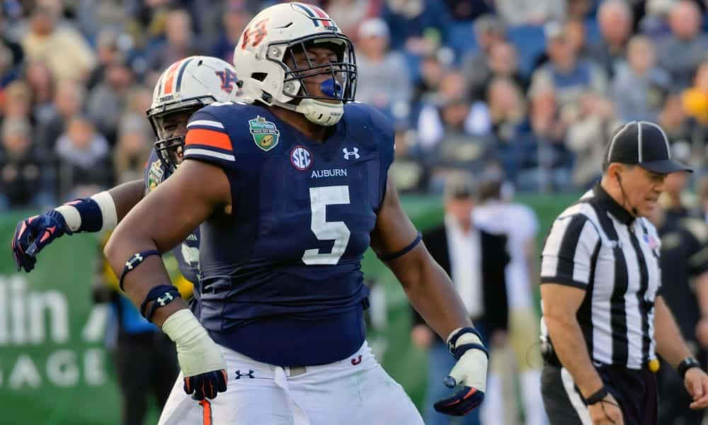 2020 NFL Draft Scouting Report: Auburn DT Derrick Brown