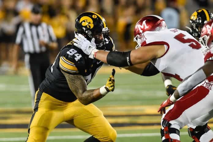 Relative Athletic Score: Is it risky to select A.J. Epenesa in the 2020 NFL Draft?