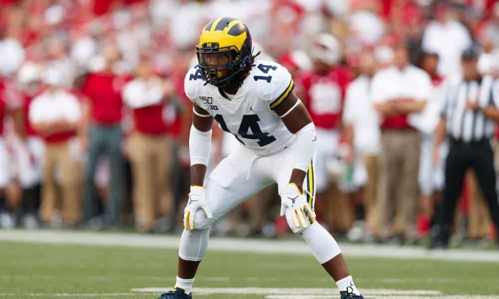 Getting to know Michigan safety Josh Metellus at the 2020 NFL Combine
