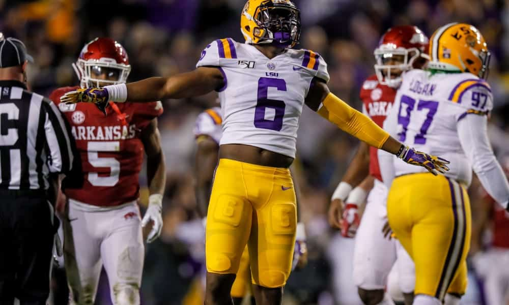 2020 NFL Draft Scouting Report: LSU LB Jacob Phillips