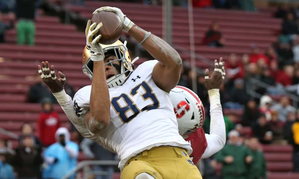 2020 NFL Draft Scouting Report: Notre Dame WR Chase Claypool