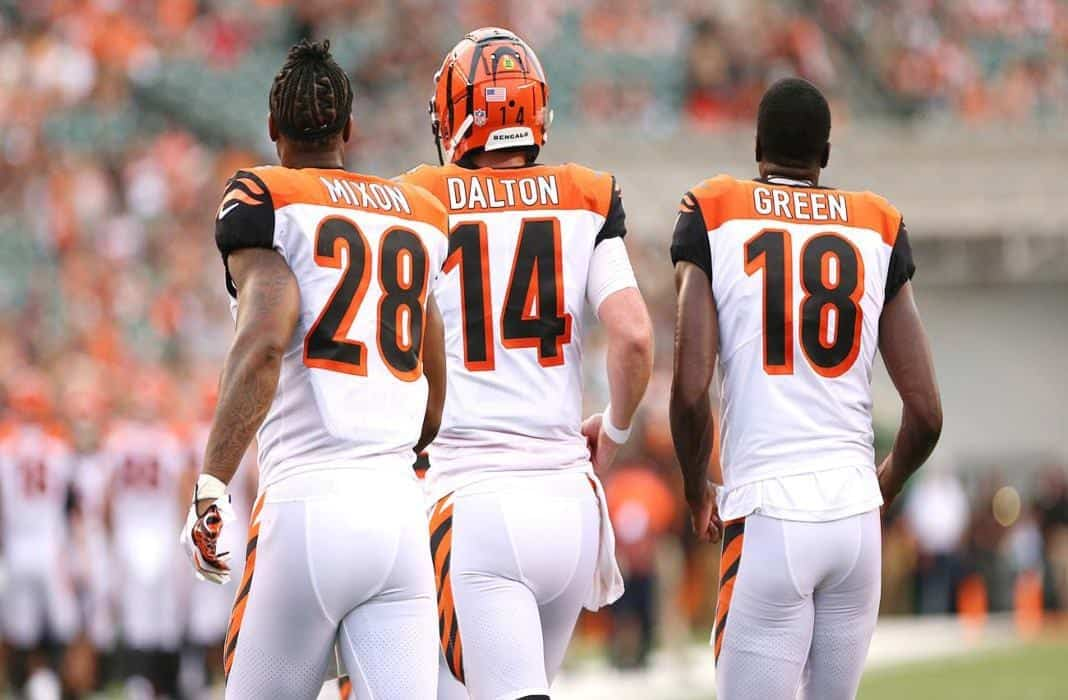 Burrow and wide receiver draft targets key to Bengals bounce back