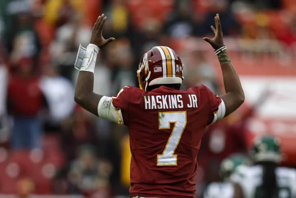 Opinion Message To The Redskins Support Dwayne Haskins