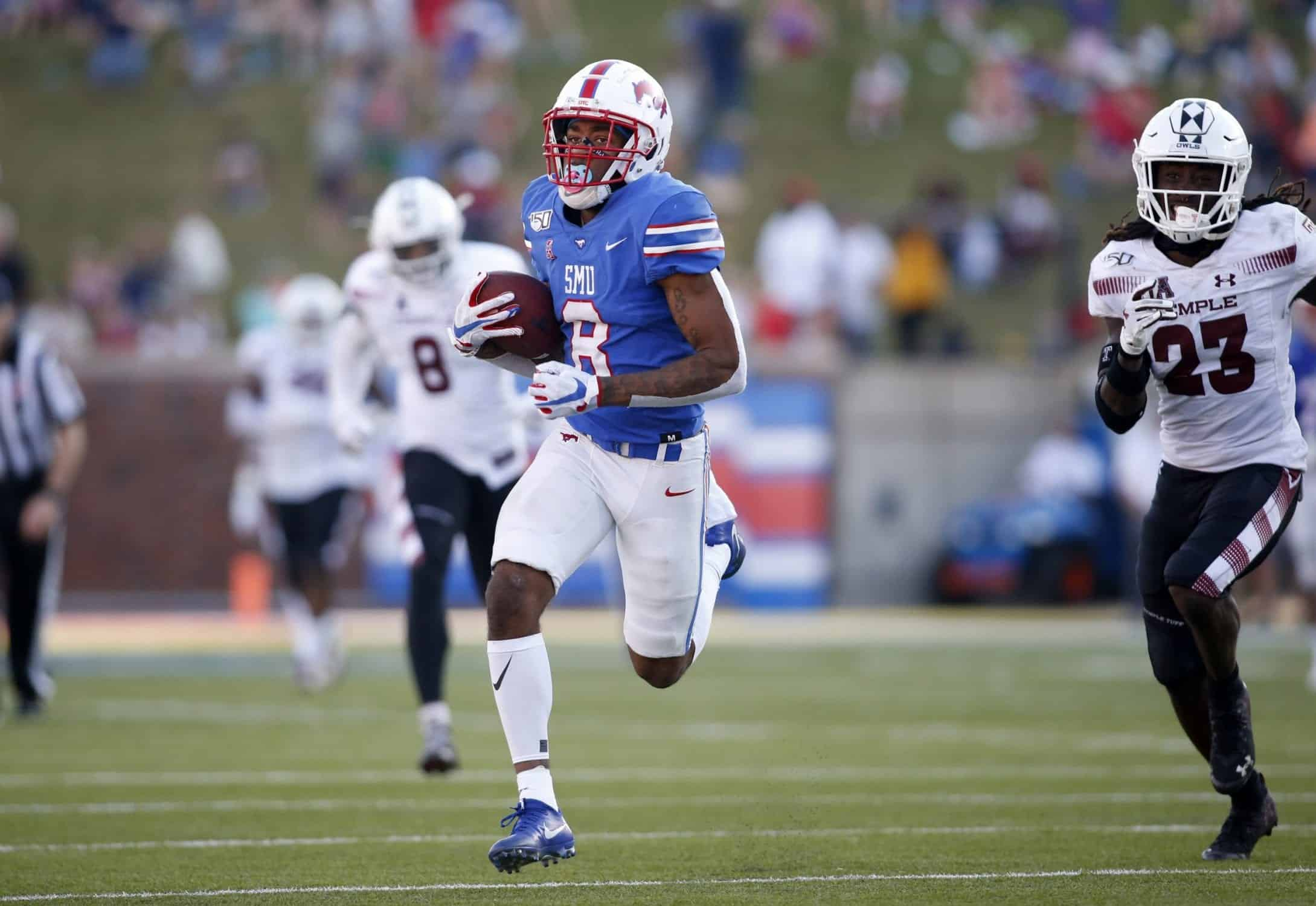2021 NFL Draft: SMU Receiver Reggie Roberson is set to break out
