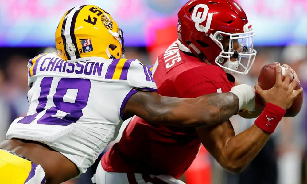 K'Lavon Chaisson a legit NFL Draft prospect worthy of an early pick