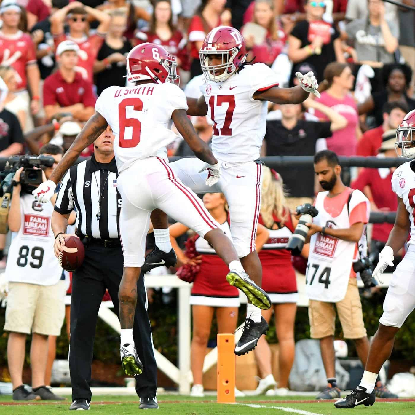 2021 NFL Draft: Smith and Waddle next great Alabama receiver duo