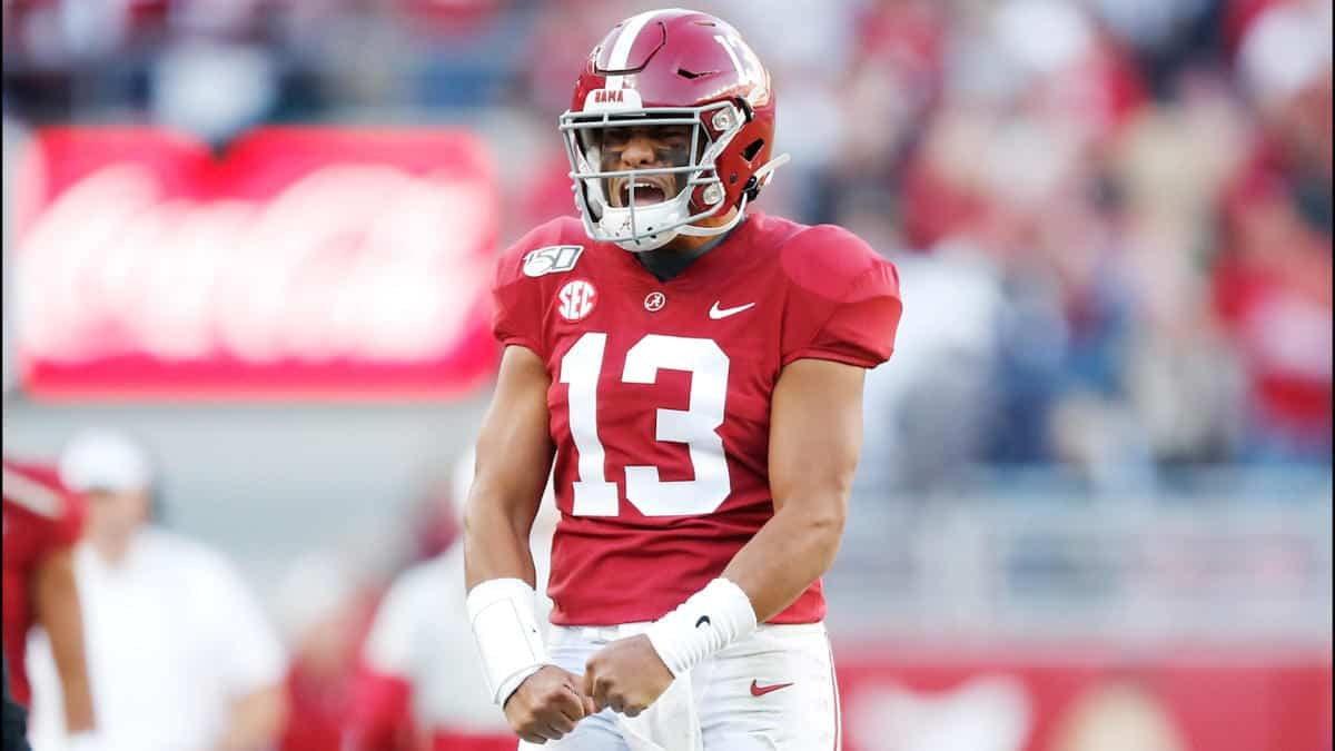 Alabama QB Tua Tagovailoa sits atop the Top 500 2020 Big Board