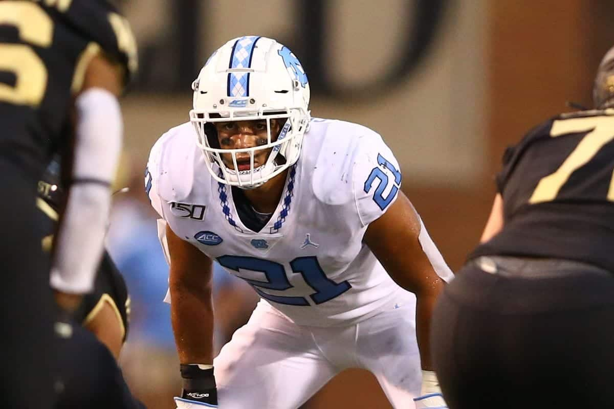 2021 NFL Draft: Meet Tar Heels Linebacker Chazz Surratt