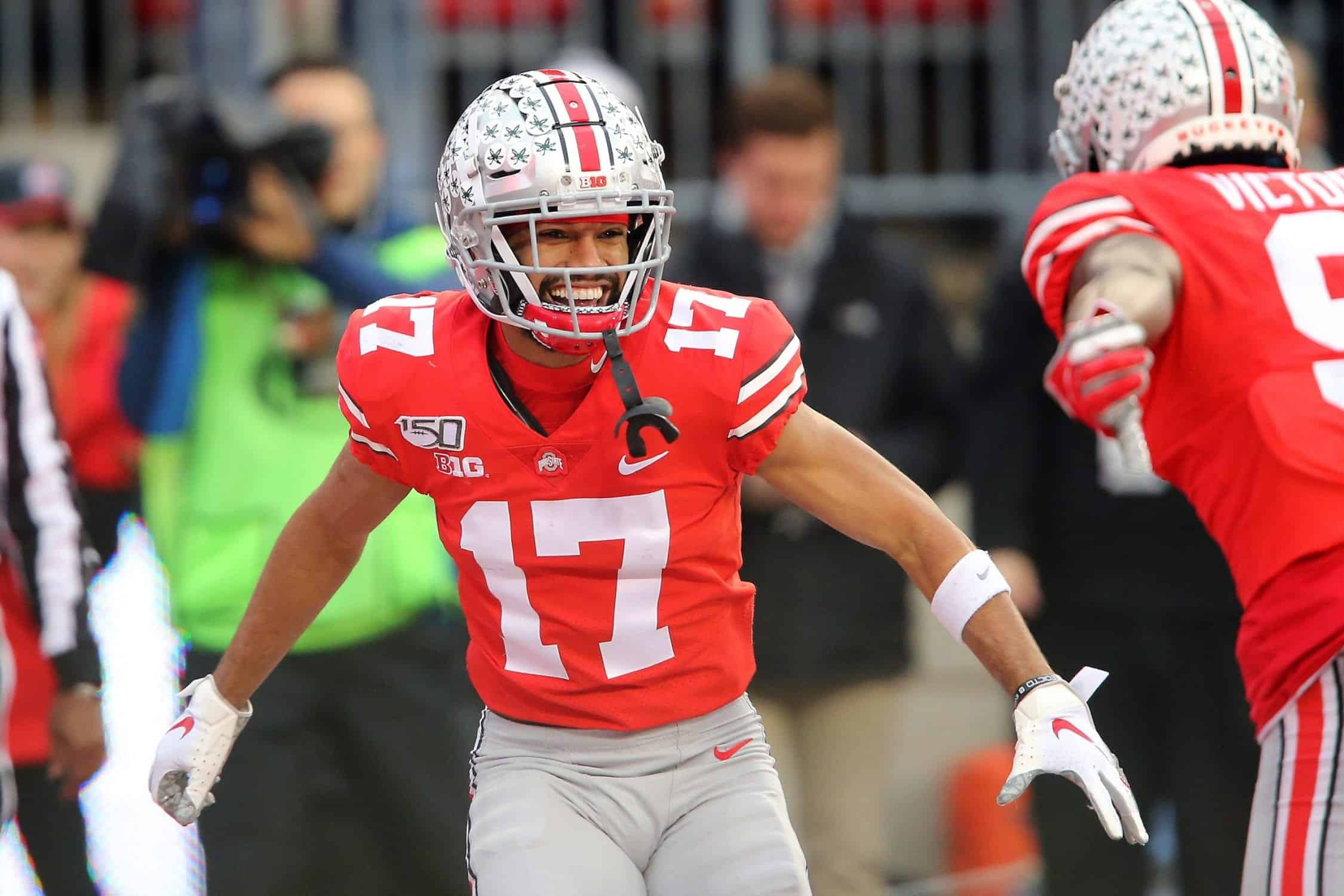 Buckeyes wide receiver Chris Olave is primed for greatness